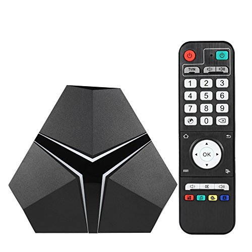 Docooler Magicsee IRON+ Smart Android TV Box Android 6.0 Amlogic S912 Octa Core Mini PC DDR4 3GB / eMMC 16GB VP9-10 4K H.265 2.4GHz/5.0GHz WiFi 10