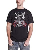 Mayhem '25 Years Coat Of Arms' T-Shirt