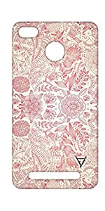 Vogueshell Flower Pattern Printed Symmetry PRO Series Hard Back Case for Xiaomi Redmi 3S Prime