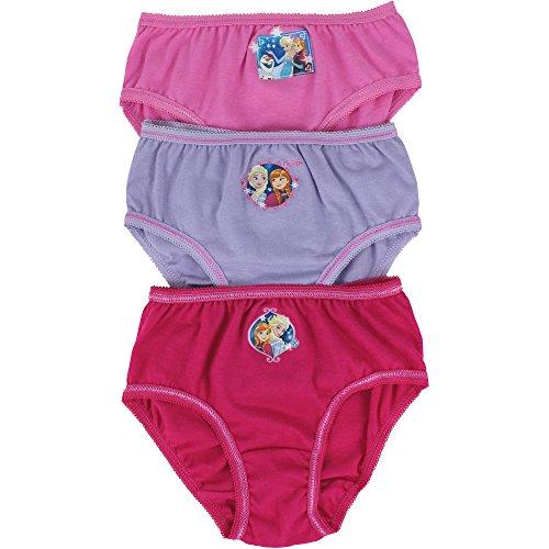 Frozen Mädchen Unterhose mehrfarbig Pink, Lilac & Fuchsia Pink One size Gr. 7-8 Jahre, Pink, Lilac & Fuchsia - Elsa-boxer