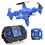 DROCON Scouter Mini RC Helikopter Drohne für Kinder, Quadcopter mit Schwebefunktion, 3D Flips, Kopflosmodus und Taste Zum Starten und Laden – Ideal für Anfänger