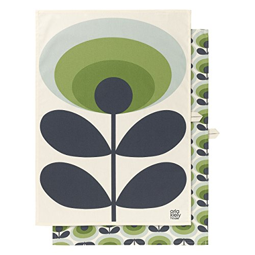 Orla Kiely – Geschirrtuch, baumwolle, Multi/Coloured, 4 x 48 x 69 cm