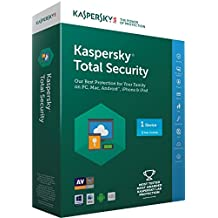 Kaspersky Total Security Latest Version- 1 User, 3 Years (CD)
