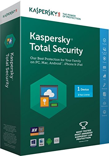 Kaspersky Total Security- 1 User, 3 Years (CD)