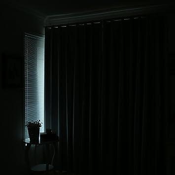 Dicken Sonnenschutz Vorhang Schlafzimmer Balkon Wohnzimmer Gardinen A 140x220cm55x87inch Amazonde Kche Haushalt