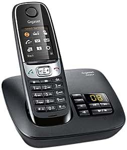 Gigaset C620A Telefono Cordless, Segreteria Telefonica, Risponditore, Possibilità di Registrare la Chiamata, Nero [Italia]