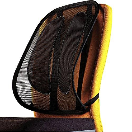 Fellowes Mesh Office Suites - Respaldo ergonómico lumbar de malla