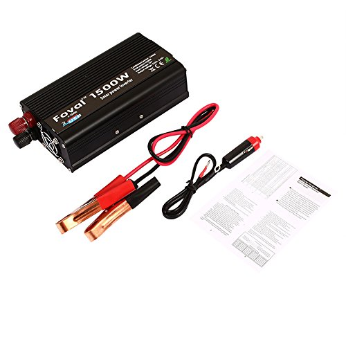 Sedeta 1500W DC12V to AC 220V ~240V Converters Pure Sine Wave power Inverter jump starter for cars trucks emergency tool for outdoor