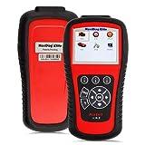 Autel MaxiDiag Elite MD802 All System Diagnosetool für Motor, Getriebe, ABS und Airbag Module unterstüzt Live-Daten, EPB, Ölservice-Reset
