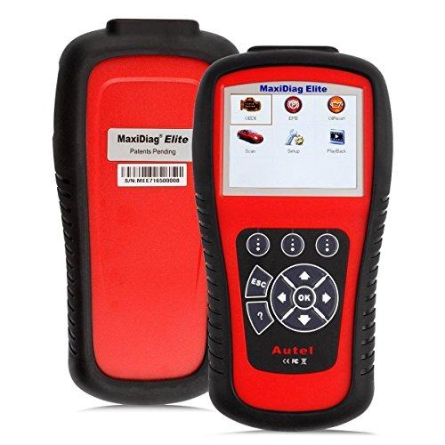 Autel MaxiDiag Elite MD802 All System Diagnosetool für Motor, Getriebe, ABS und Airbag Module unterstüzt Live-Daten, EPB, Ölservice-Reset -