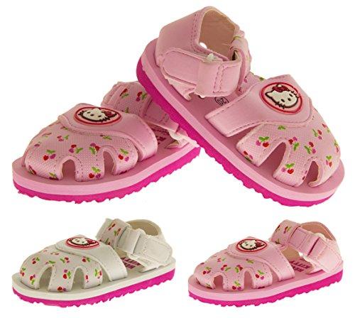 Hello Kitty Sangatta Sangle Velcro Orteil Fermé Sandales Filles