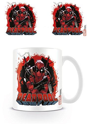 DC Universe Marvel Comics Kaffeetassen, Keramik, Mehrfarbig, 7.9x11x9.3 cm