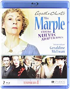 Agatha Christie's Miss Marple Adaptations - Season 1 (4 Films) - 2-Disc Set ( Marple: The Murder at the Vicarage / Marple: 4:50 from Padding [ Origine Espagnole, Sans Langue Francaise ] (Blu-Ray)