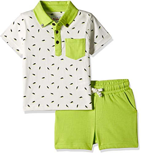 Donuts Baby Boys' Clothing Set (269983249 WHITE 06M)