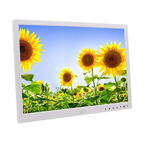 SPFDPF Digitaler Fotorahmen 17 Zoll eingebaute Lithiumbatterie HD Touch-Taste, elektronische LED-Albumwand-Werbemaschine
