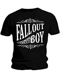 7cd887db3 Amazon.co.uk: Fall Out Boy - Tops & Tees / Band T-Shirts & Music Fan ...
