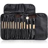 Walfou Makeup Brushes, Brino Foundation Brush Set For Eye Shadow, Lip Blush And Foundation Powder Cosmetic With...