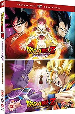 Dragon Ball Z: Battle Of Gods/Resurrection F [DVD] [UK Import]