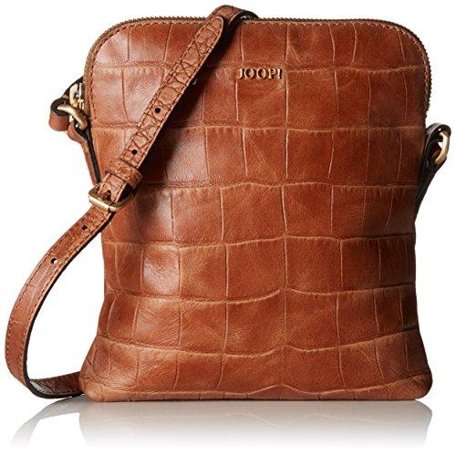 Joop Damen Croco Soft Daphne Shoulderbag Svz Schultertasche, 3x23x20 cm Braun (Brown)