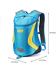 OUTRY Lightweight Backpack, 15L Daypack
