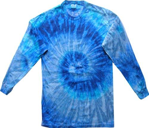 Pliuegy 5.4 oz., 100% Cotton Long-Sleeve d T-Shirt 1Blue Jerry