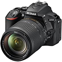 Nikon D5500 - Cámara digital Reflex de 24.2 MP + AFS DX 18-140 mm f/3.5-56G ED VR, color negro