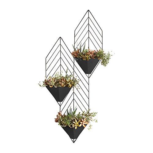 Im Freien Kraut Blumen Pflanze steht Wände Hängende Wandregale Drei Blumenständer Wohnzimmer Mehrgeschossige Blumenständer Wandregale Hängende Indoor Flower Racks Im Freien Kraut Blumen Pflanze steht ( farbe : #1 - Im Stand Pflanze Freien Hängende