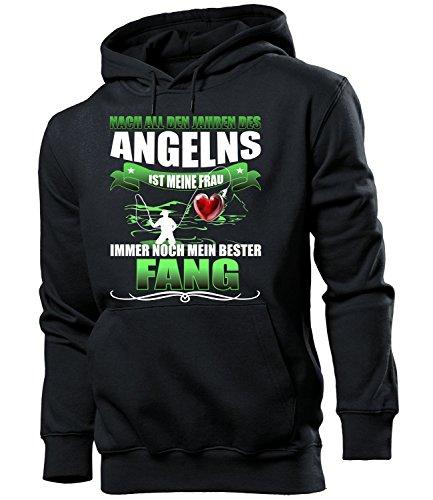 Angelns 5203 Angler Papa lustig Stuhl Bier Männer Papa lustig Vater verkleidung Geschenk für Herren Hoodie Kapuzen Pullover Pulli Hut XXL ()