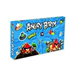 Follow the Angry Birds on their journey through space, with the Angry Birds Space Race Board game from University Games. Your goal is to find the greedy pigs who have stolen the eggs. Move your characters around the game board and be the first to tra...