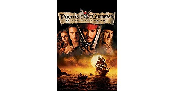 Pirates of the Caribbean The Curse of the Black Pearl 1 Movie Poster Canvas A4A0