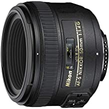 Nikon 50 mm f/1.4G SIC SW Prime AF-S Nikkor Lente para cámaras Digitales SLR Nikon (reacondicionado Certificado)