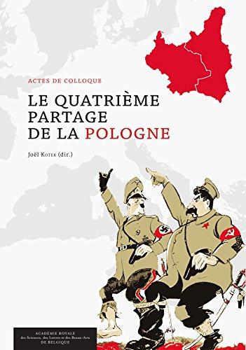 Livres gratuits en ligne Le Quatrième Partage de la Pologne: Actes de colloque pdf, epub