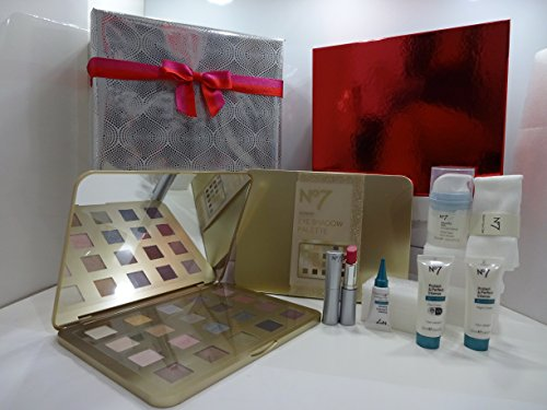 Valentines Gift Set For Her ~ No7 Must Have Luxury Beauty Skincare & Make Up Gift Box Free Gift Wrapped ..001...