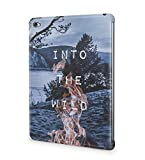 Into The Wild Fire Camping Lake Mountains Landscape Wanderlust Explore Journey Travel Durable Hartplastik Snap On Hülle