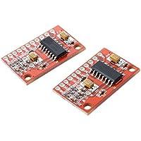 SODIAL (R) 2 pcs 2 Amplificador de audio de canal 3W PAM8403 Modulo Amplificador bordo