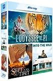 Grands espaces : L'odyssée de Pi + Sept ans au Tibet + Into the Wild [Blu-ray]