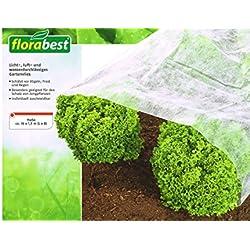 Florabest® Vlies - schützt vor Vögel, Frost und Regen - Weiß Gartenvlies