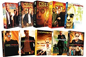 Csi: Miami: Complete Series Pack [DVD] [Region 1] [US Import] [NTSC]