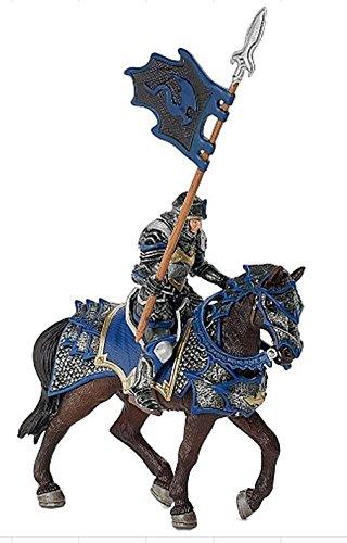 Ritter Drag Pferd mit Speer