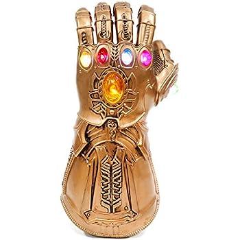 INFINITY GAUNTLET ABITO FANTASIA RAGAZZI Avengers Infinity War Kids Costume Accessorio