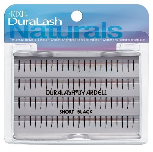Ardell Duralash Regular False Eyelashes - Short Black (Pack of 4) by Ardell