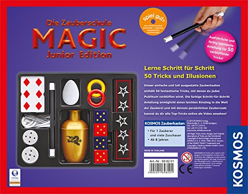 Kosmos-698201-Zauberschule-Magic-Junior-Edition