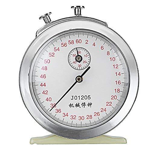 Terrarum Reloj mecánico Cuerda cronómetro 60S 0.2S