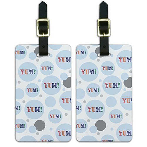 graphics-and-more-etiquette-yum-yummy-multicolore-uk-luggagetags13185