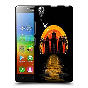 Snoogg Light House Designer Protective Back Case Cover For Lenovo A6010