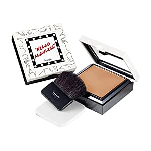 BENEFIT COSMETICS hello flawless! hazelnut - why walk when you can strut? 7.0g Net wt. 0.25 oz custom powder cover-up