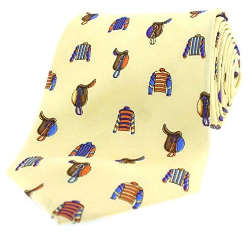Corbata Animal amarillo