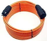 Schutzkontakt Pur-Verlängerungskabel H07BQ-F 3x1,5 bis 3x2,5 mm² IP44 Außenbereich Baustelle 230V 16A (3G1,5; 5m)