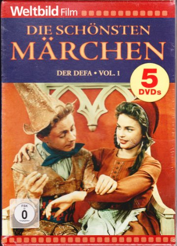 Die schönsten Märchen der DEFA, Vol. 1 (Dornröschen / König Drosselbart / Rotkäppchen / Rumpelstilzchen / Das tapfere Schneiderlein) [5 DVDs]