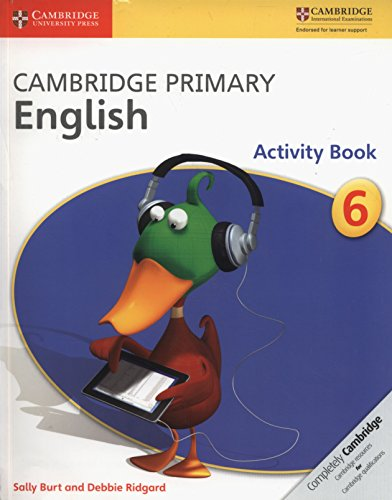 Cambridge Primary English. Activity Book Stage 6